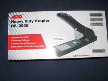 Heavy Duty Stapler HS-2000
